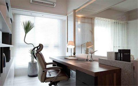 书房窗帘现代风格装修设计图片