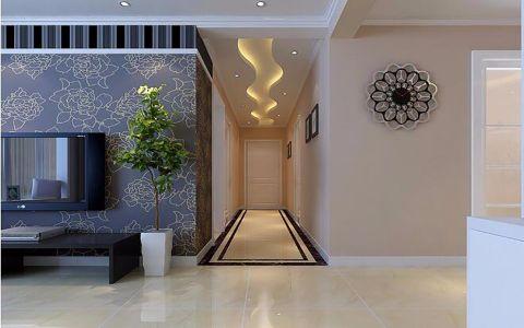 2021现代中式90平米效果图 2021现代中式二居室装修设计