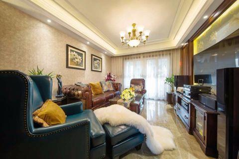 九龙仓碧玺160平米美式风格四室两厅两卫实景图