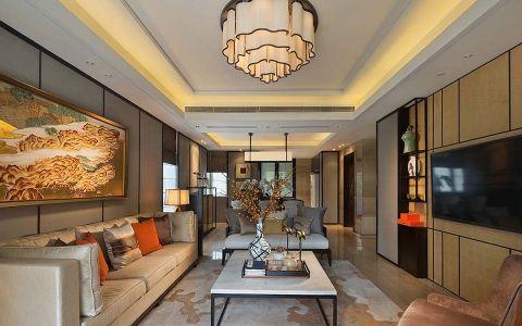 玉兰广场150平米loft1公寓新中式风格效果图