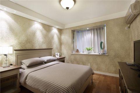 卧室吊顶地中海风格装修效果图
