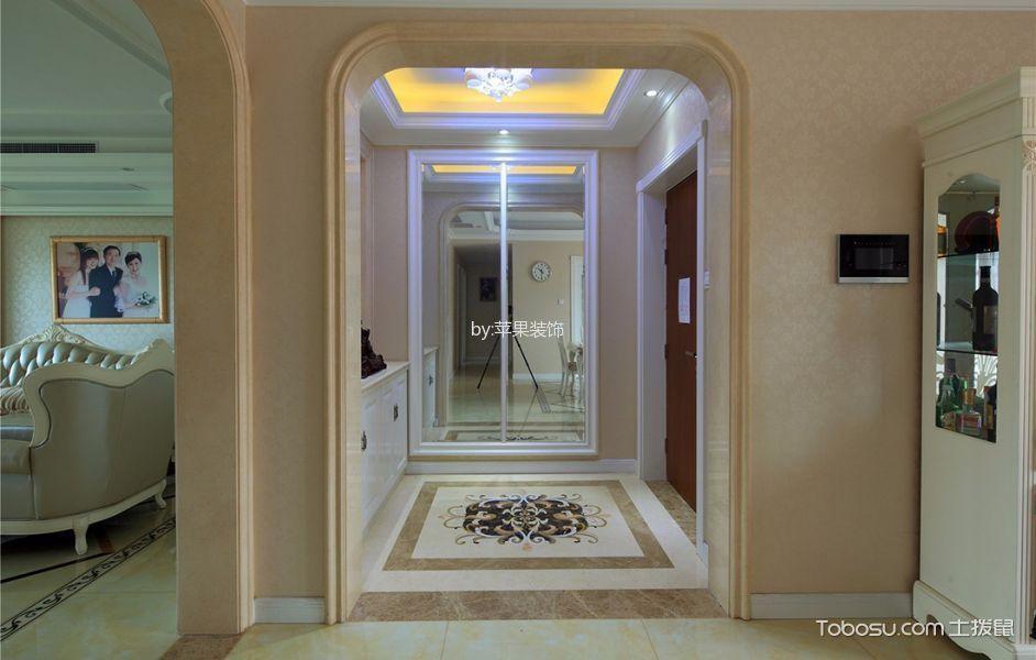 景瑞御华府150平米欧式风格三房两厅装修效果图