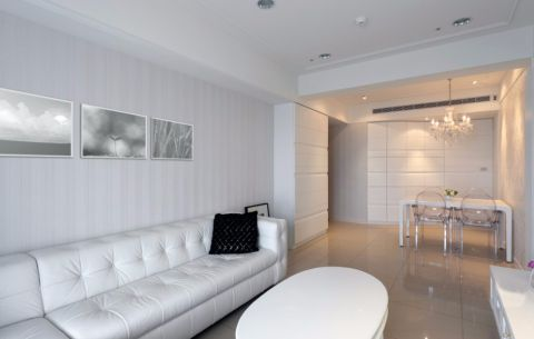客厅门厅现代简约风格效果图