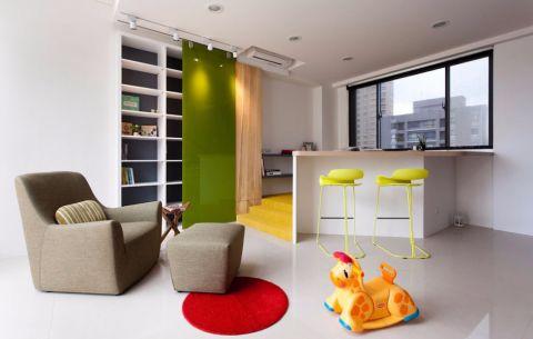 卧室地砖现代简约风格装饰图片