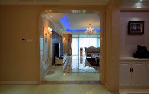 客厅门厅欧式风格装修效果图