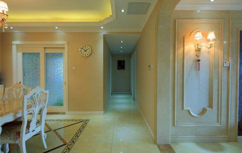 客厅吊顶欧式风格装潢效果图