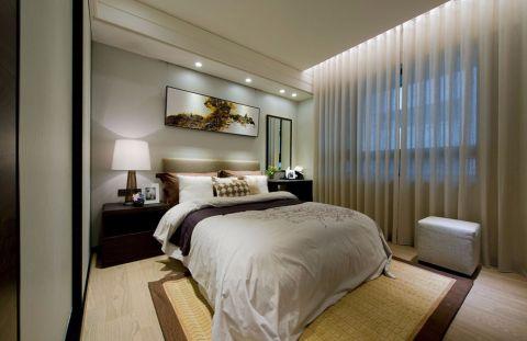 卧室床中式风格装修效果图