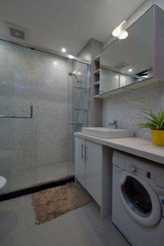 卫生间吊顶现代简约风格装饰设计图片