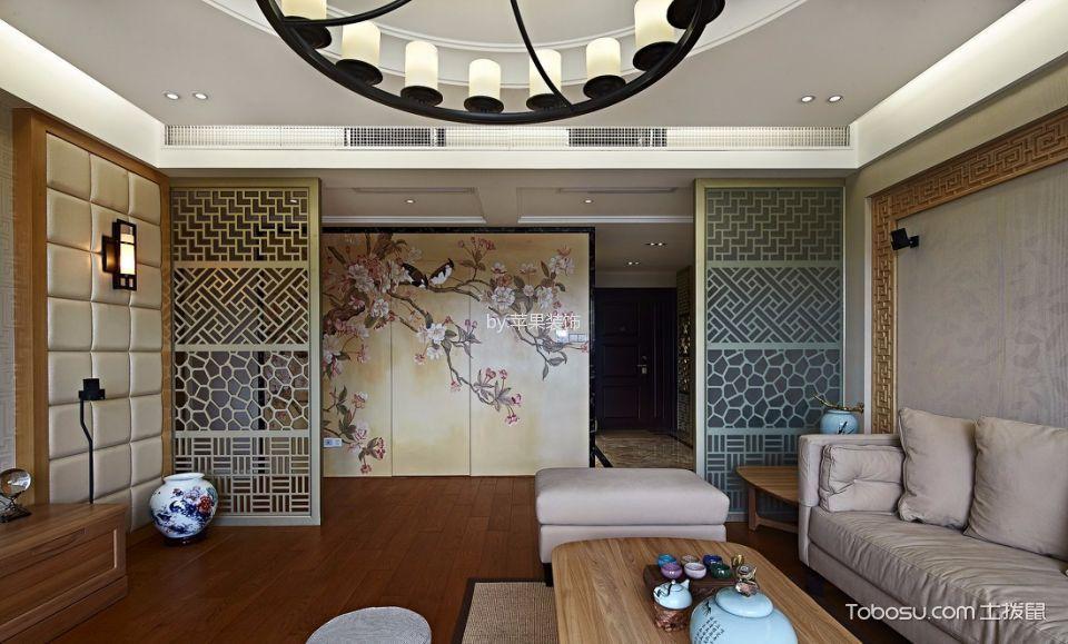 易城国际中式四居室装修效果图