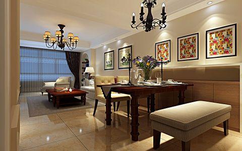 风尚米兰三居室现代时尚装修效果图
