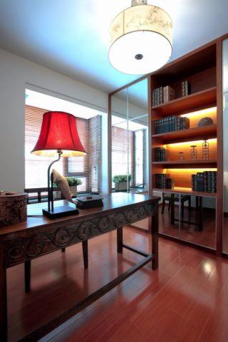 书房吊顶东南亚风格装修图片