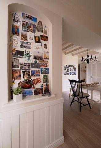 玄关背景墙现代风格装饰图片