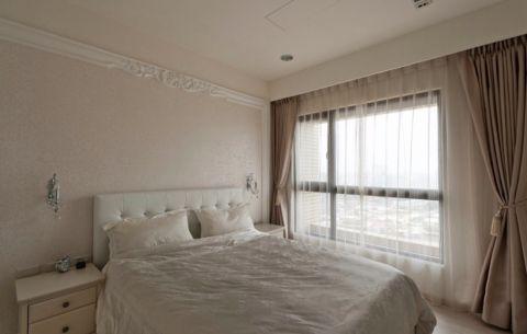 卧室床简约风格装饰效果图