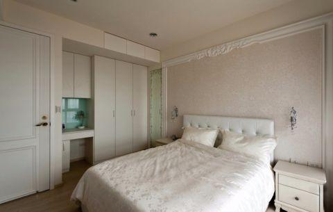 卧室床头柜简约风格装饰图片