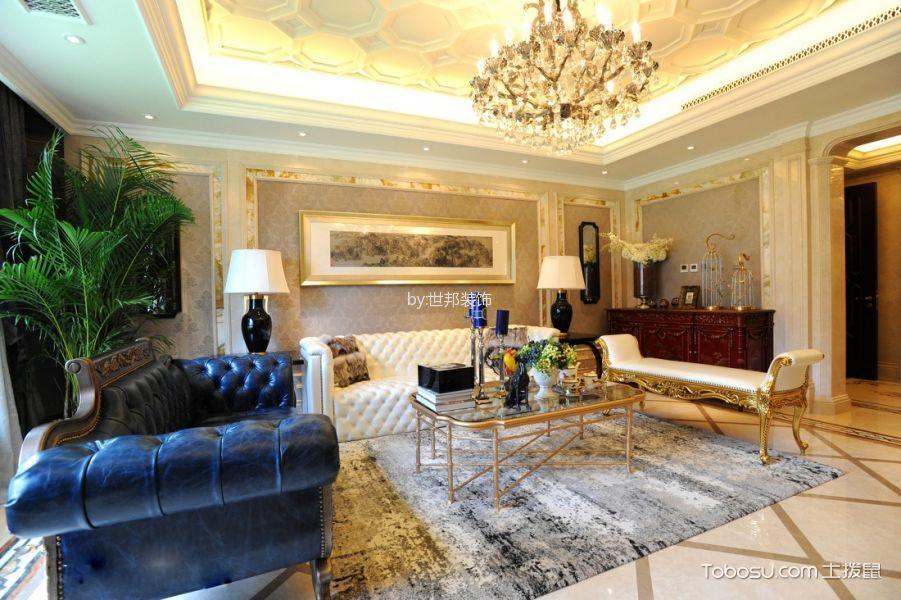 客厅 沙发_欧式风格130平米四室两厅新房装修效果图