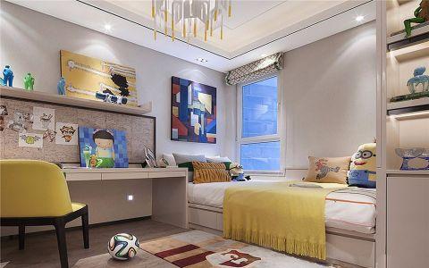 儿童房榻榻米现代简约风格装饰设计图片