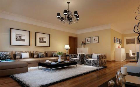 客厅现代简约风格装饰设计图片