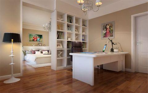 书房现代简约风格装潢设计图片