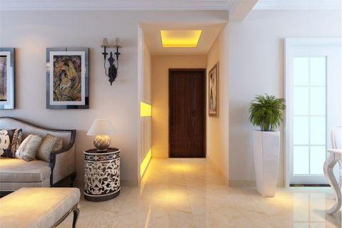 简欧风格115平米楼房室内装修效果图