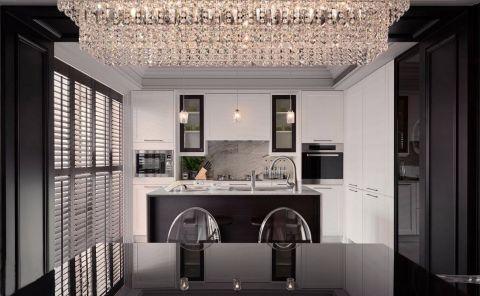 新古典风格110平米三室两厅室内装修效果图
