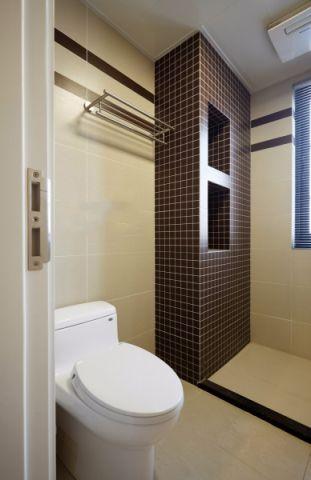 卫生间地砖简约风格装修效果图