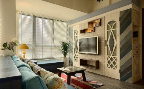 田园风格120平米三室两厅新房装修效果图