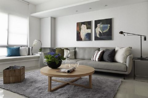 北欧风格140平米三室两厅新房装修效果图