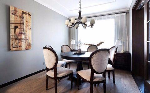 餐厅吊顶美式风格装饰效果图