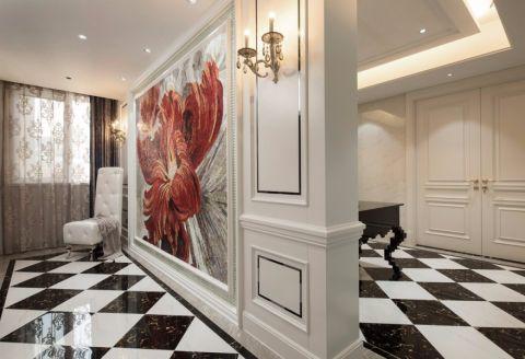 客厅窗帘简欧风格装饰效果图