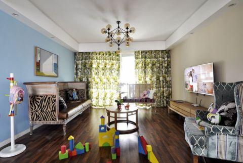混搭风格180平米复式室内装修效果图