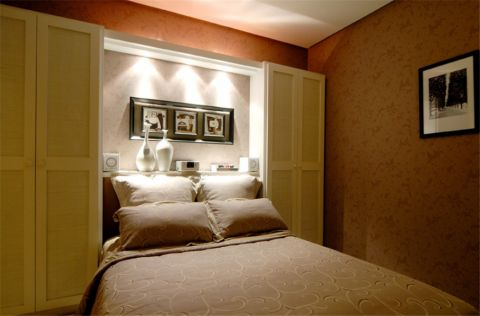 卧室照片墙日式风格装饰效果图