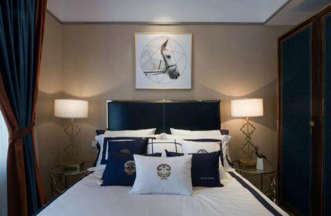 卧室窗帘现代简约风格装饰图片