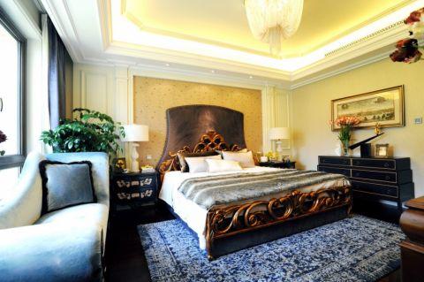 卧室床欧式风格装饰设计图片