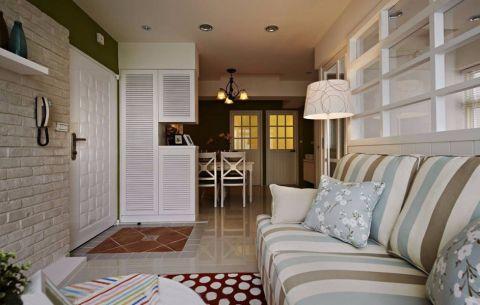 简约风格60平米两室两厅室内装修效果图