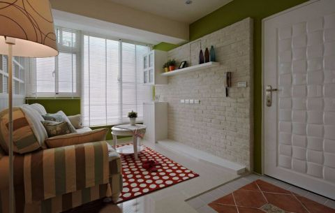 客厅茶几简约风格装修设计图片