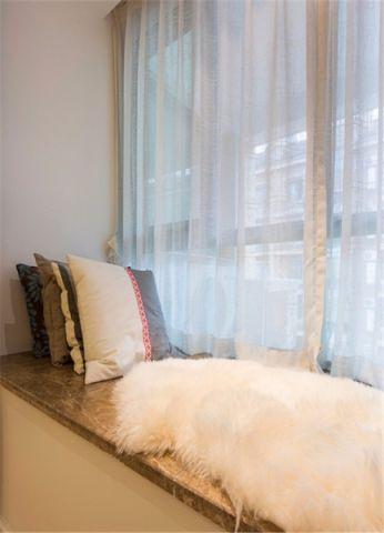 卧室飘窗现代简约风格装饰效果图