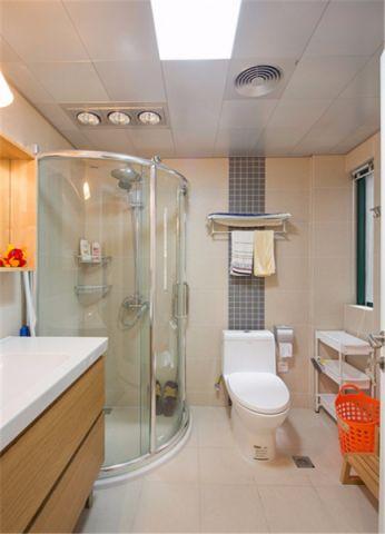 卫生间地砖现代简约风格装饰设计图片