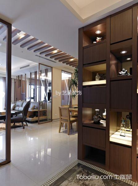日式风格80平米两室两厅新房装修效果图
