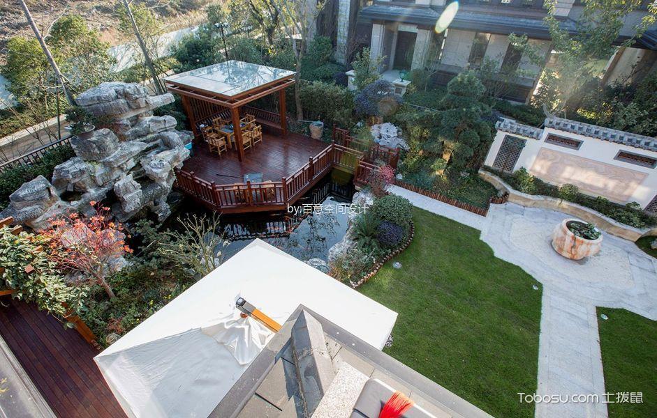 花园 细节_法式风格500平米别墅室内装修效果图