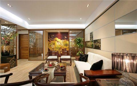 中式风格350平米别墅新房装修效果图