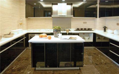 厨房橱柜中式风格装潢设计图片