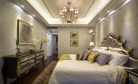 卧室吊顶法式风格装修设计图片