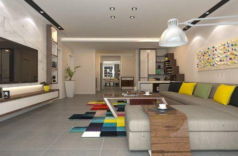 简约风格174平米三室两厅室内装修效果图