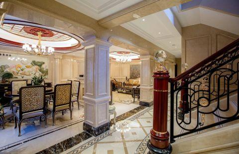 餐厅吊顶法式风格装饰图片