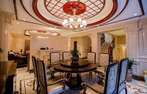 餐厅餐桌法式风格装潢图片
