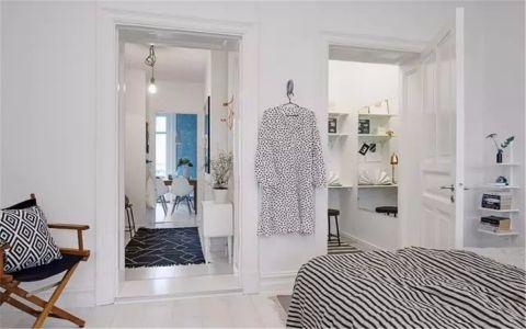 卧室走廊现代简约风格装修图片