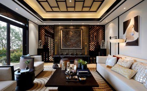 新中式风格280平米别墅新房装修效果图