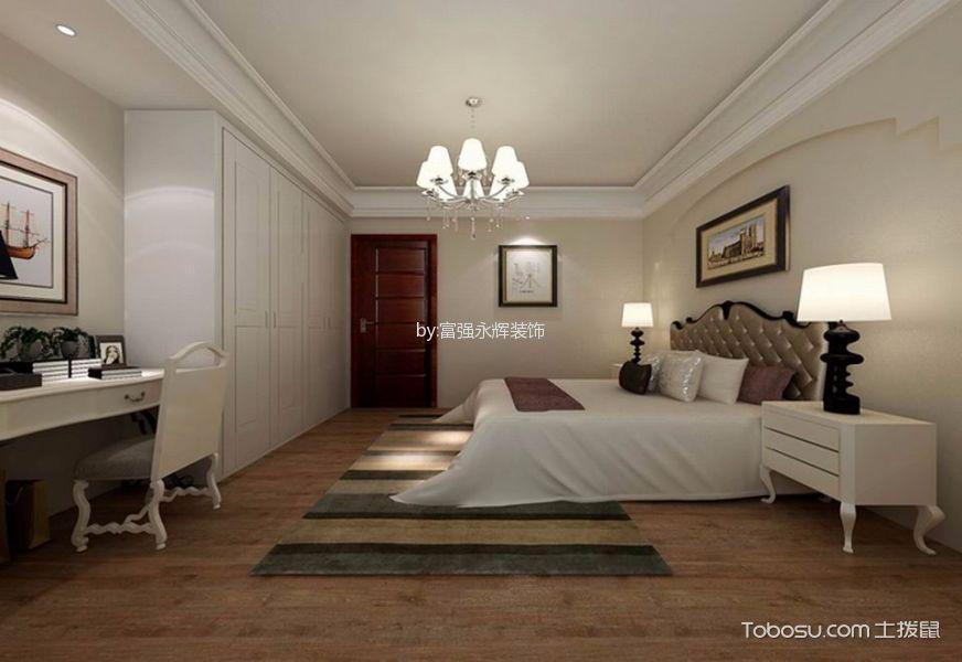 卧室黄色床混搭风格装修效果图