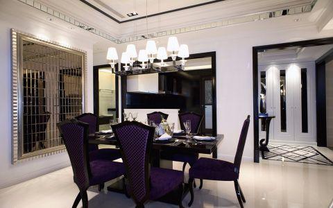 现代风格92平米公寓室内装修效果图
