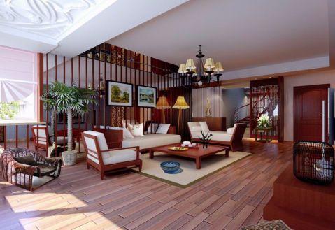新古典风格100平米跃层室内装修效果图